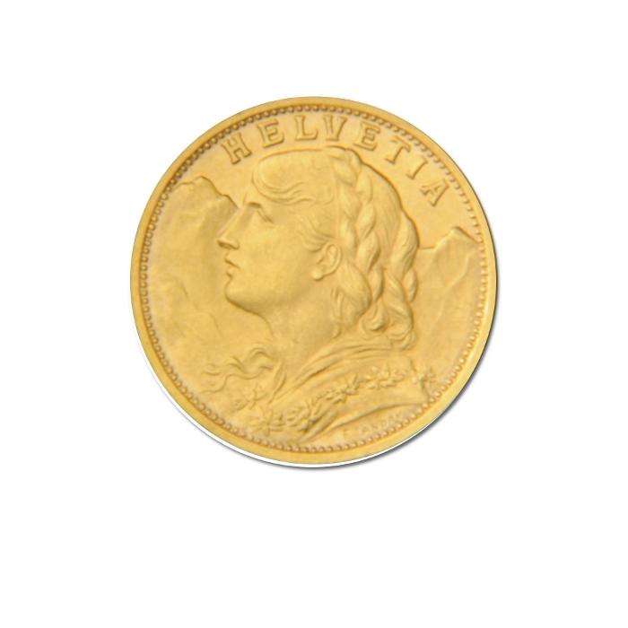 Swiss Gold 20 Franc