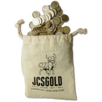 90% Silver $100 Bag