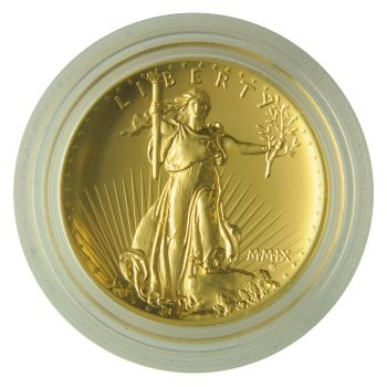 2009 Ultra High Relief Gold Double Eagle