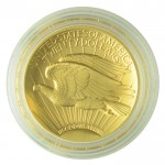 2009 Ultra High Relief Gold Double Eagle Reverse