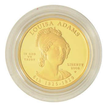 Louisa Adams Proof First Spouse 1/2 oz Gold