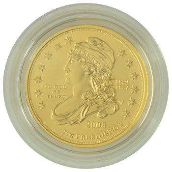 Jackson's Liberty Proof First Spouse 1/2 oz Gold Obverse