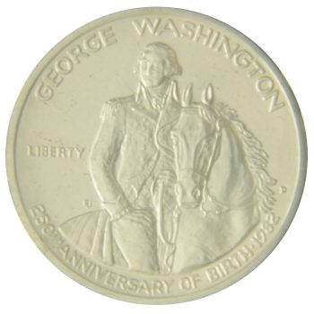 Uncirculated Washinton Commemorative Obverse