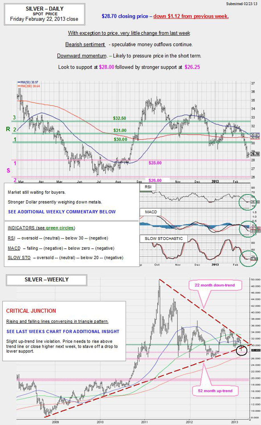 Feb. 22, 2013 chart & commentary