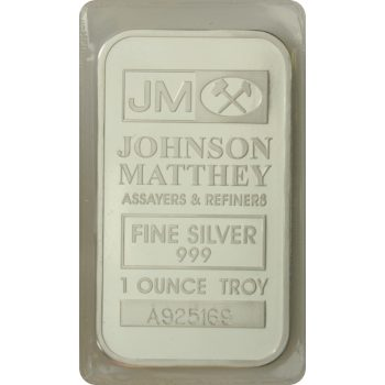 1 ozt Johnson Matthey Bar