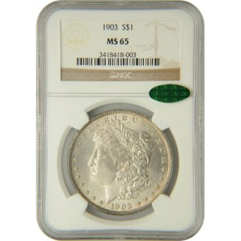 1903 Morgan Dollar NGC MS-65