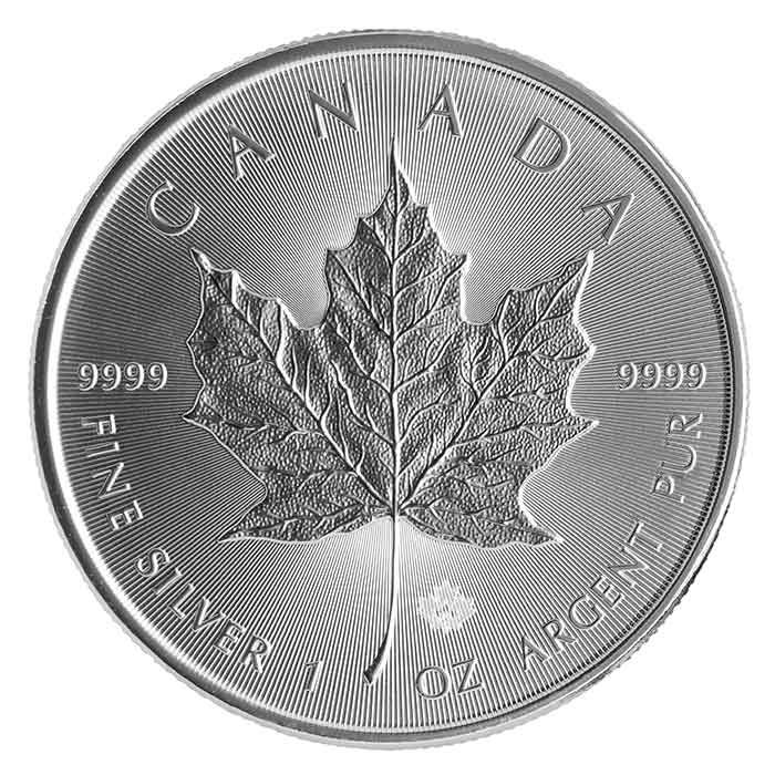 2015 Canadian Silver Maple Leaf - Reverse