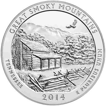 5 oz Silver Smoky Coin