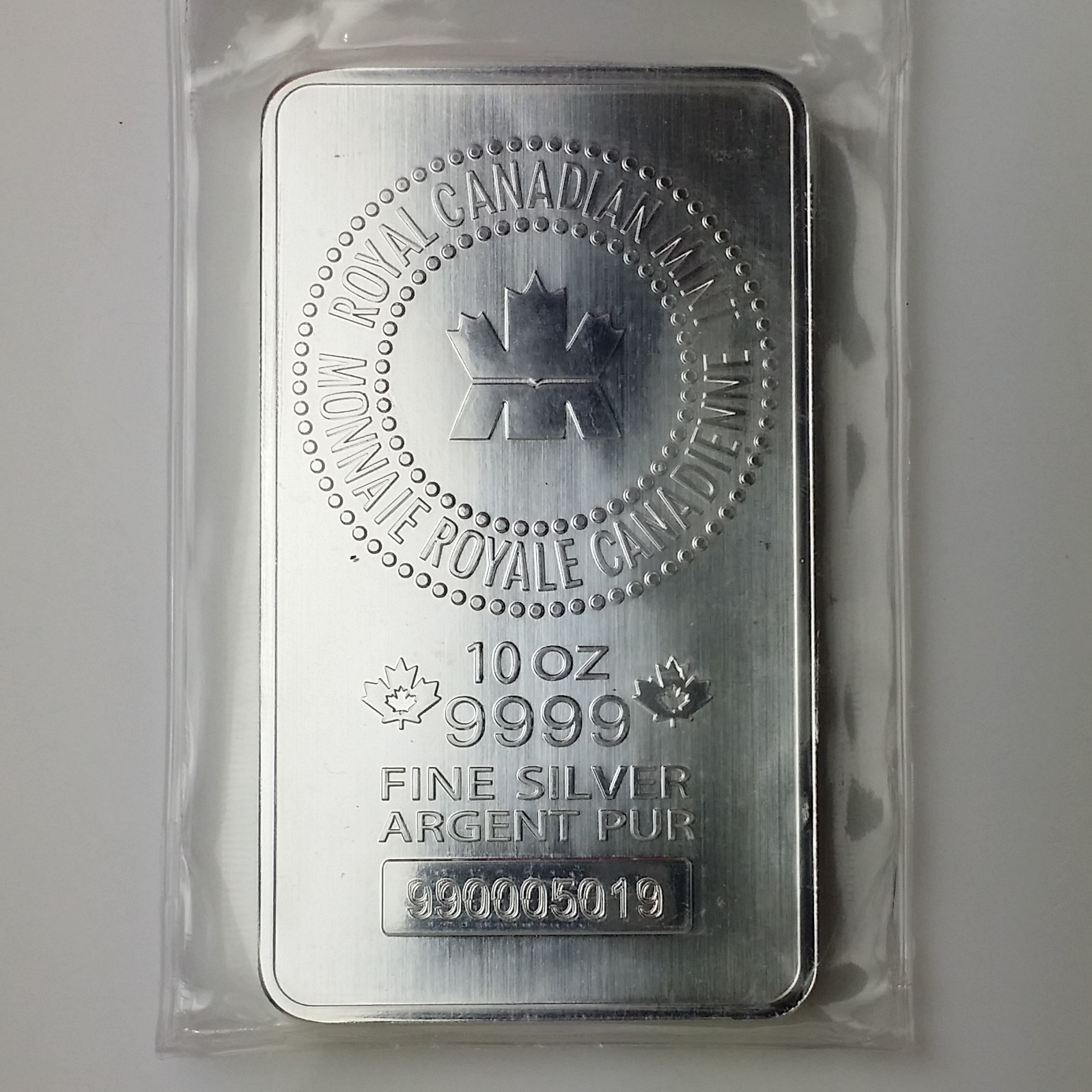 10 Oz Rcm 10 Oz 9999 Silver Bar Jefferson Coin