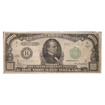 1934 a $1000 Note
