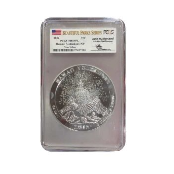2012 5 oz Silver Hawaii ATB