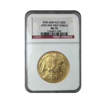 1 oz Gold Buffalo