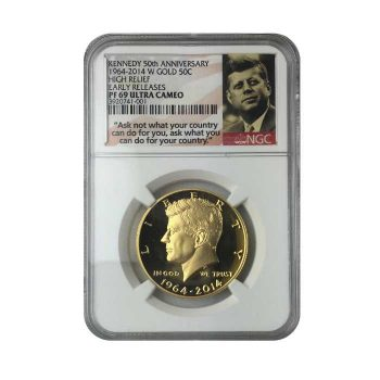 Kennedy Gold Coin