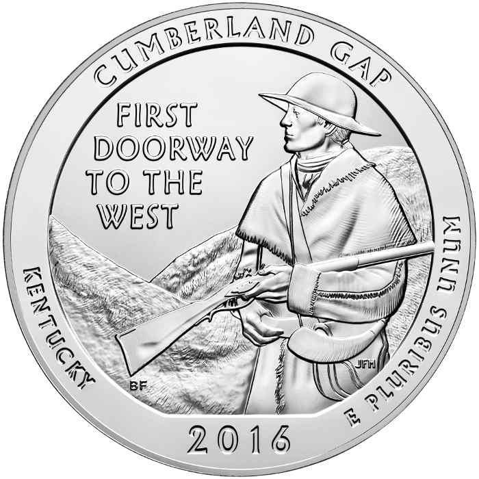 5 oz Silver Cumberland Gap