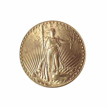 1927 Gold Double Eagle Coin
