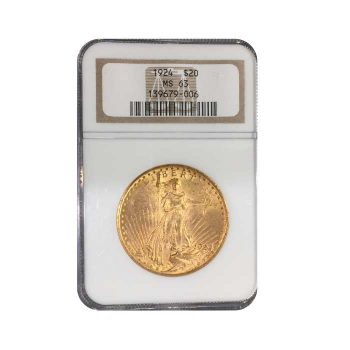 1924 Gold Double Eagle