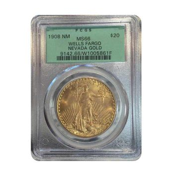 1908 Gold Double Eagle