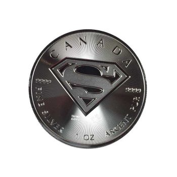 2016 Canadian 1oz Silver Superman