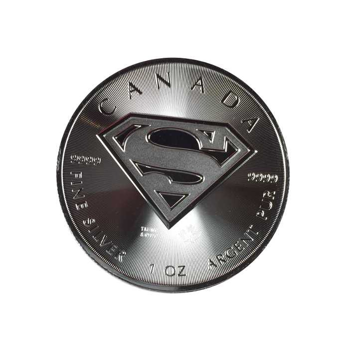 2016 Canadian 1oz Silver Superman
