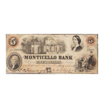 $5 Monticello Note