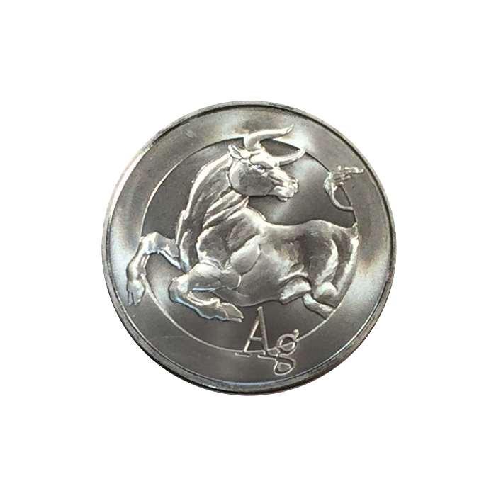 1 oz Silver Bull