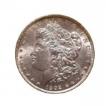 1892 Morgan Silver Dollar