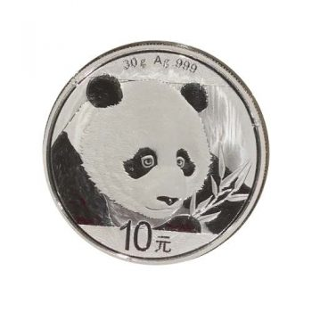 2018 30 Gram Chinese Silver Panda Coin