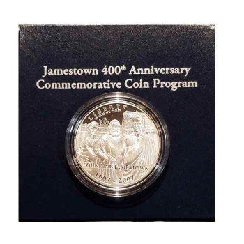 Jamestown Silver Dollar