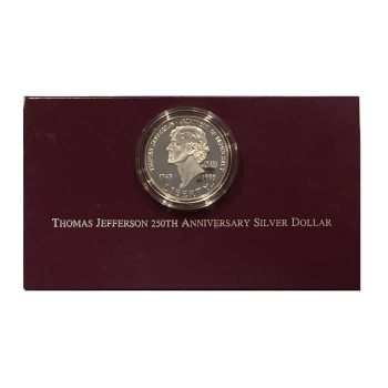 Jefferson silver dollar