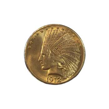 1912 $10 Gold Indian