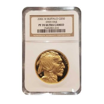 2006 Proof Gold Buffalo