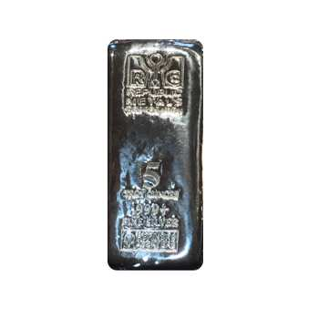 5 oz Republic Silver Bar