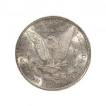 1884-CC Morgan Silver Dollar AU58