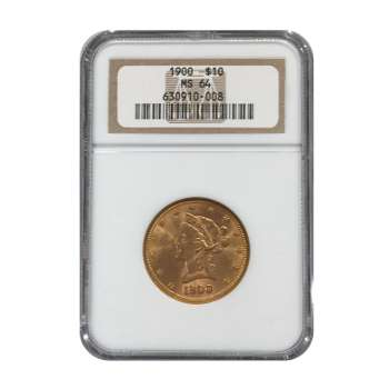 1900 $10 Gold