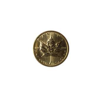 1/10 oz .999 Gold Maple Leaf