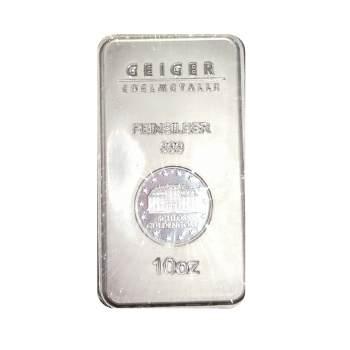 10 oz Silver Bar Geiger