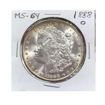 1888-O Morgan Dollar MS-64