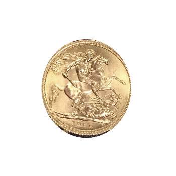 1966 Gold Sovereign