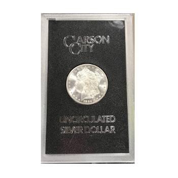 1884-CC Morgan Silver Dollar GSA