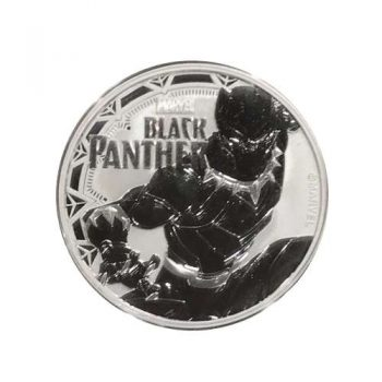 2018 1 oz Silver BLACK PANTHER BU - Jefferson Coin