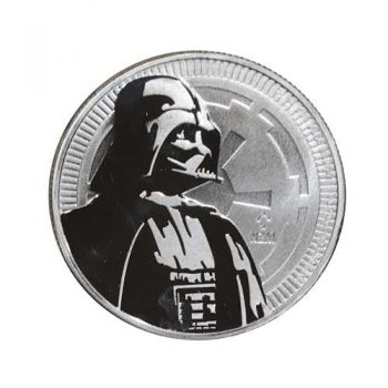 2017 Silver Darth Vader Coin