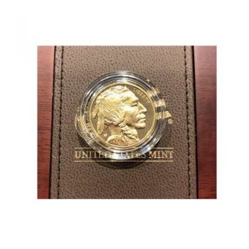 2008 W $25 Proof 1/2 oz Gold Buffalo