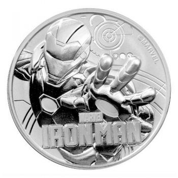 2018 1 oz Iron Man Silver Coin