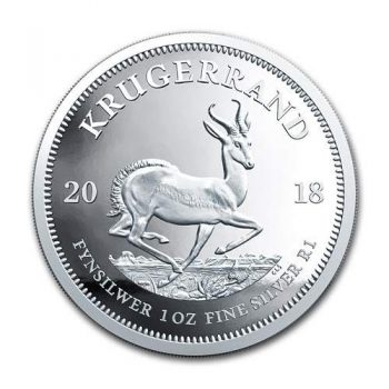 2018 Silver Krugerrand 1 oz Fine Silver