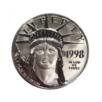 1998 $100 1oz Platinum Eagle