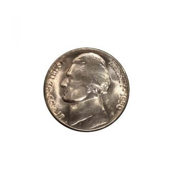 1950-D Jefferson Nickel BU