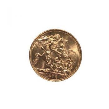 1976 Gold Sovereign Elizabeth II