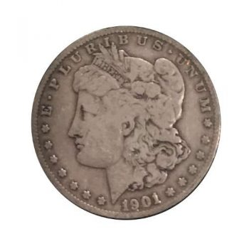 1901-S Morgan Silver Dollar VG