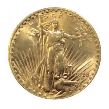 1928 $20 Gold St Gaudens