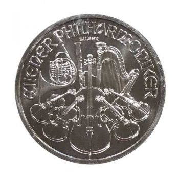 1 oz Austrian Silver Philharmonic Coin - Random Year